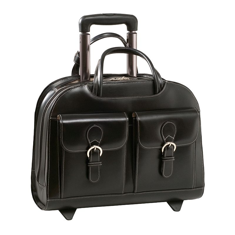 McKlein Davis 15.4-in. Wheeled Laptop Case