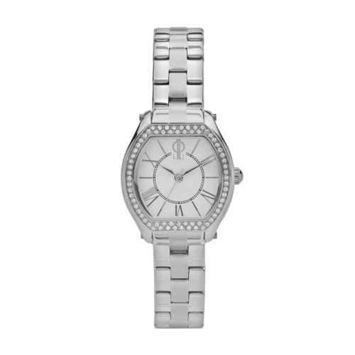 Jennifer Lopez Stainless Steel Crystal Watch - Women