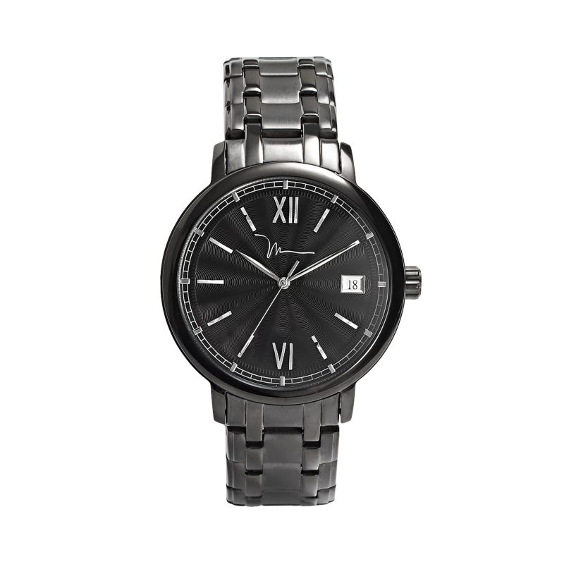 marc anthony black stainless steel