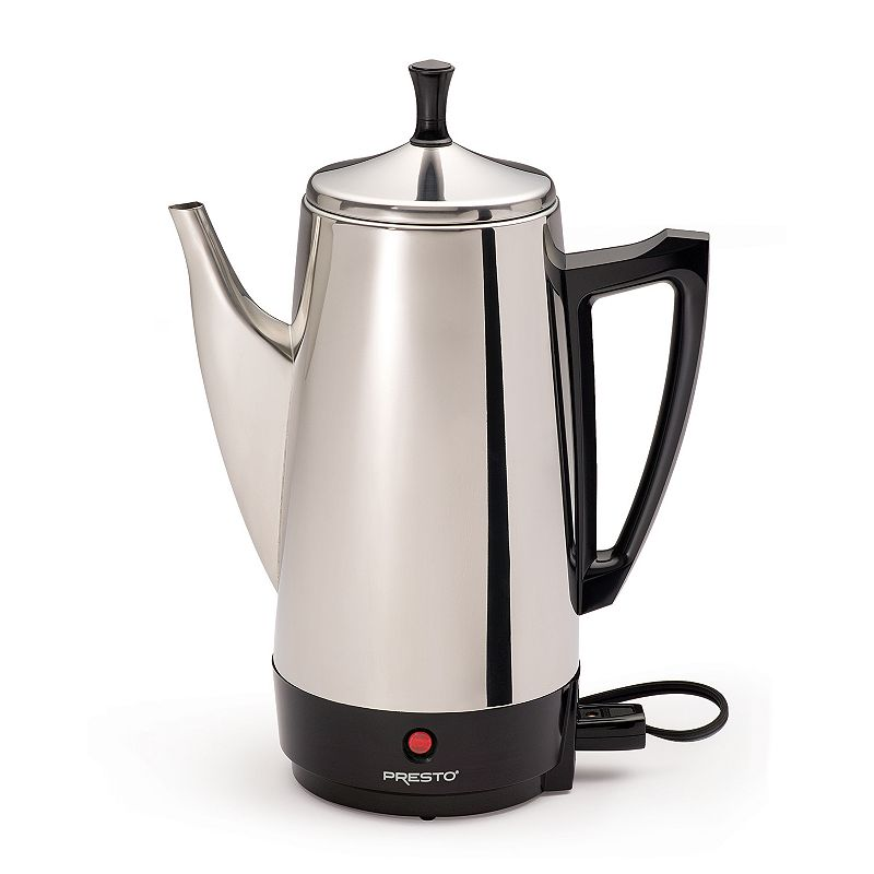 Presto 12-Cup Stainless Steel Percolator