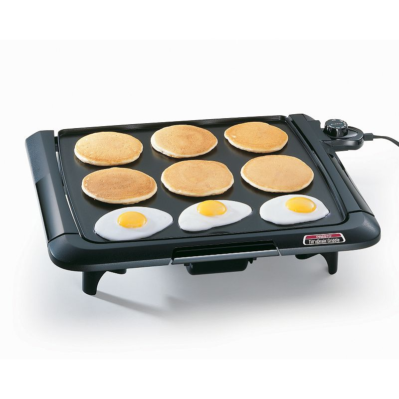 Presto Tilt 'N Drain Electric Griddle