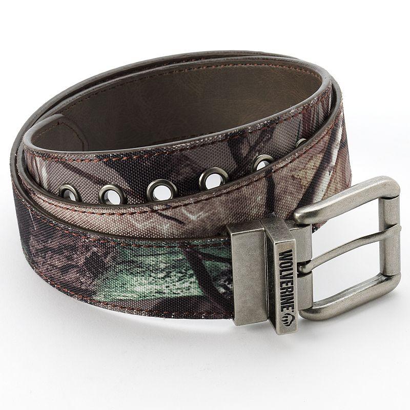 Wolverine Camouflage & Black Reversible Belt