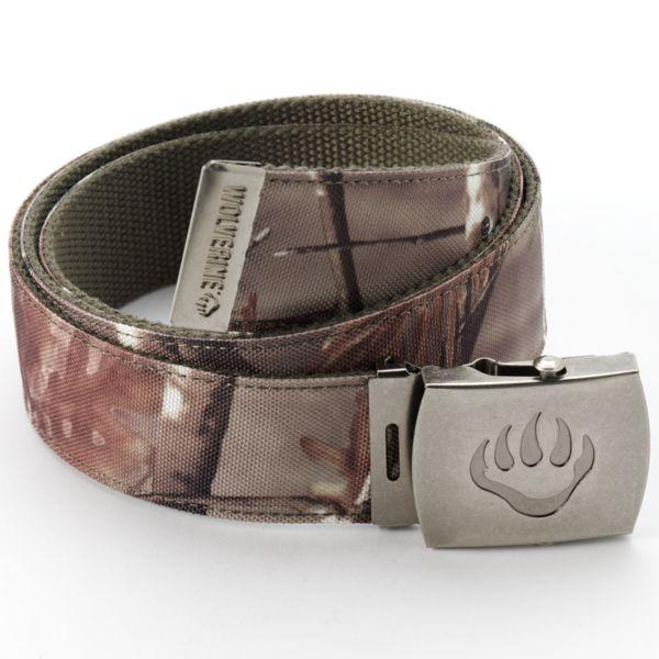 Wolverine Camouflage & Olive Reversible Belt