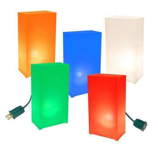 LumaBase 10-pk. Partytime Electric Luminarias