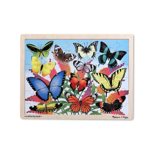Melissa and Doug Butterfly Garden Wooden Jigsaw Puzzle