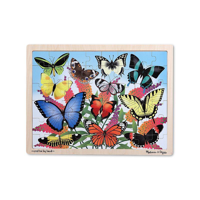 Melissa and Doug Butterfly Garden Wooden Jigsaw Puzzle