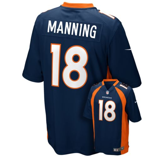 Nike Denver Broncos Peyton Manning Game NFL Replica Jersey - Men