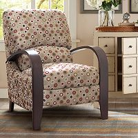 Madison Park Circle Bent Arm Recliner Chair
