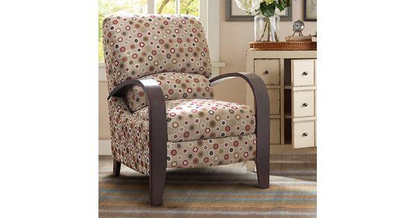Kohl Furniture Store: Madison Park Circle Bent Arm Recliner Chair