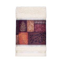 Avanti Christmas Adirondack Pine Hand Towel