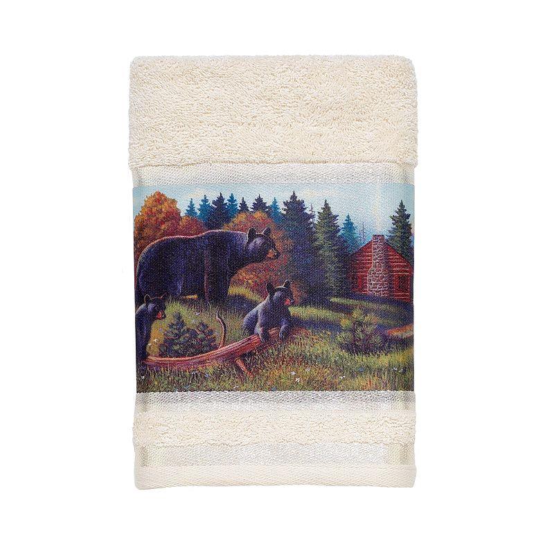 Avanti Black Bear Lodge Hand Towel