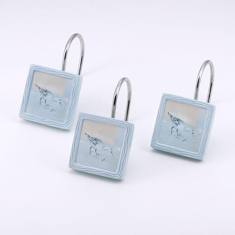 Avanti Blue Waters 12-pk. Shower Curtain Hooks