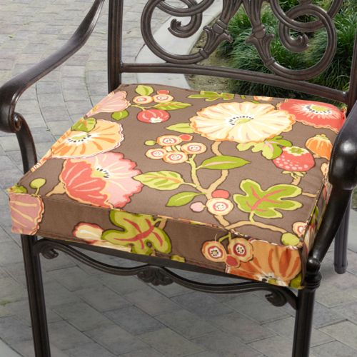 Mozaic P. Kaufmann 20-in. Floral Outdoor Chair Cushion