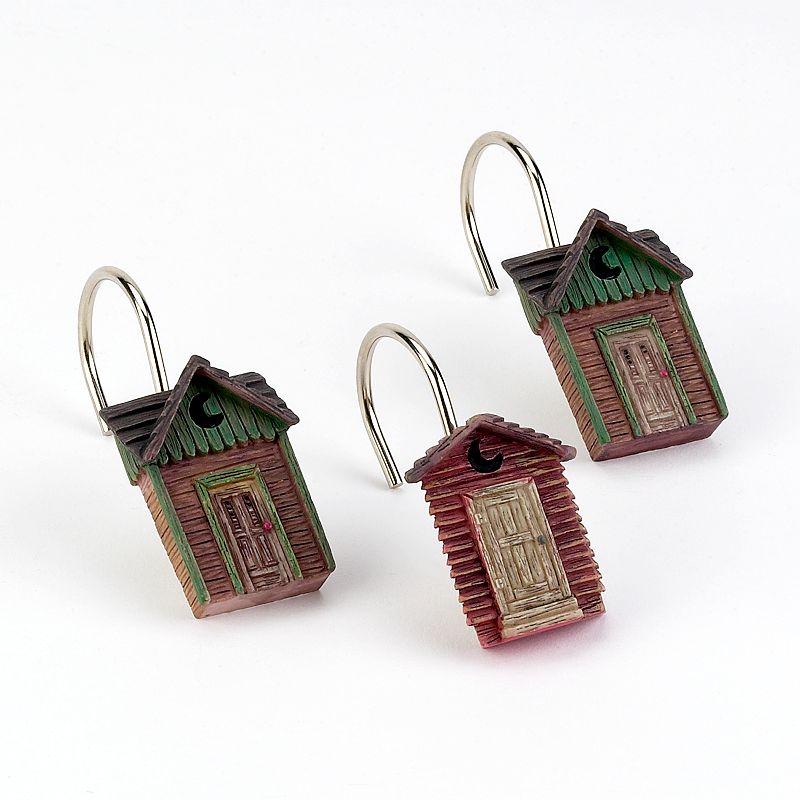 Avanti Outhouses 12-pk. Shower Curtain Hooks