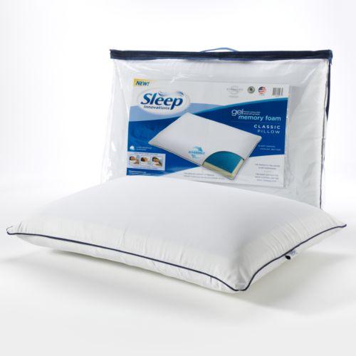 Sleep Innovations Gel Memory Foam Classic Pillow