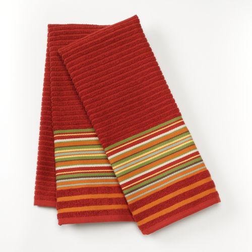 Bobby Flay™ Stripe 2-pk. Kitchen Towels