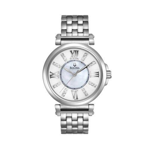 Bulova Watch - Women's Stainless Steel - 96P134