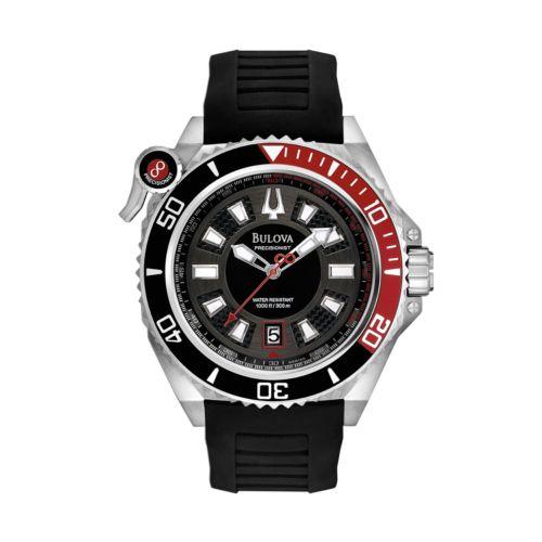 Bulova Precisionist Stainless Steel Watch - 98B166 - Men
