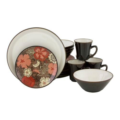 Sango Primrose 16-pc. Dinnerware Set