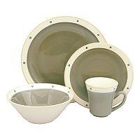 Sango Newport Avocado 16-pc. Dinnerware Set