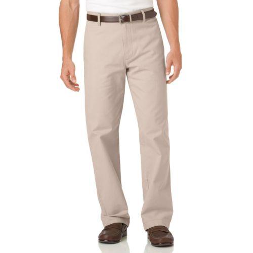 Men's Chaps Flat-Front Chino Pants