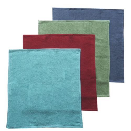 Food Network™ Solid 4-pk. Antimicrobial Bar Mop Kitchen Towels