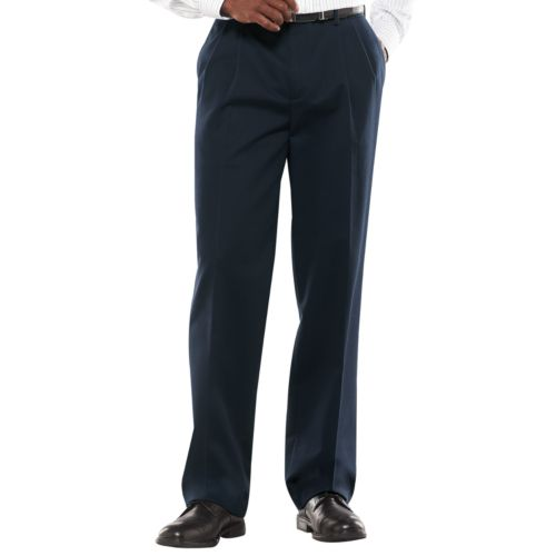 Croft & Barrow® Classic-Fit Easy-Care Pleated Pants - Big and Tall