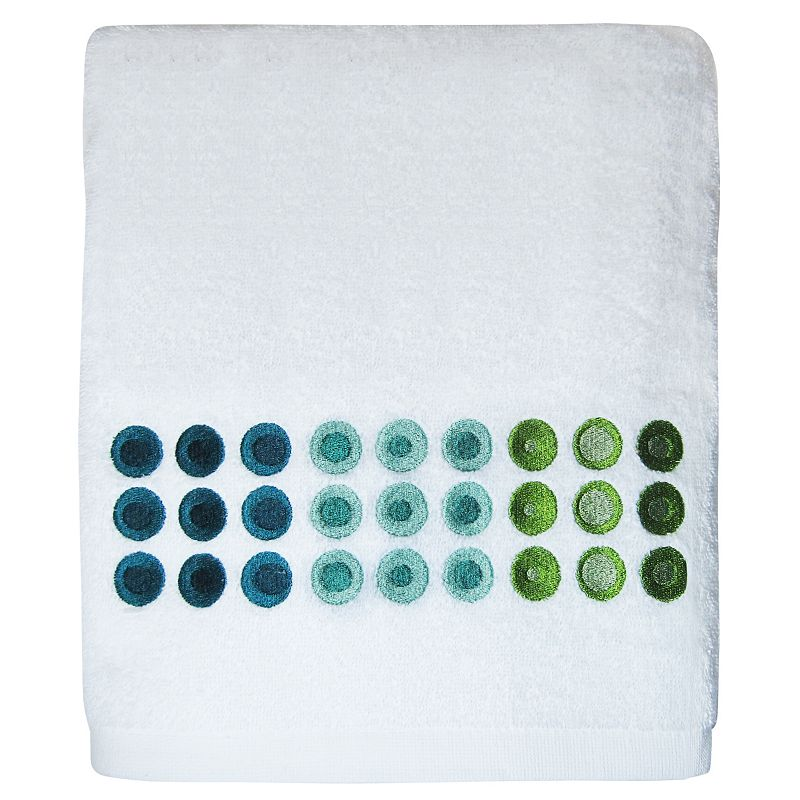 Allure Home Creations On a Dot Bath Towel