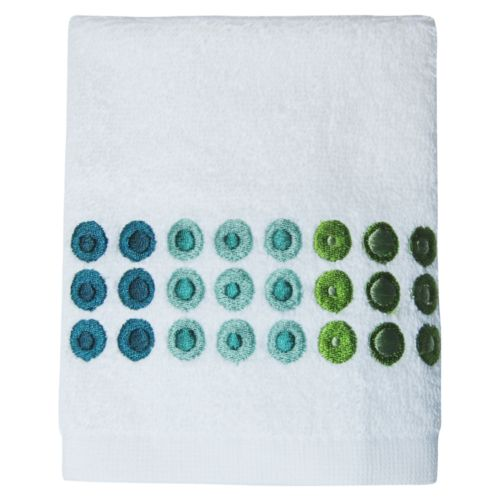 Allure Home Creations On a Dot Washcloth