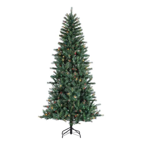 Sterling 7 1/2-Ft. Dunhill Pine Pre-Lit Artificial Christmas Tree