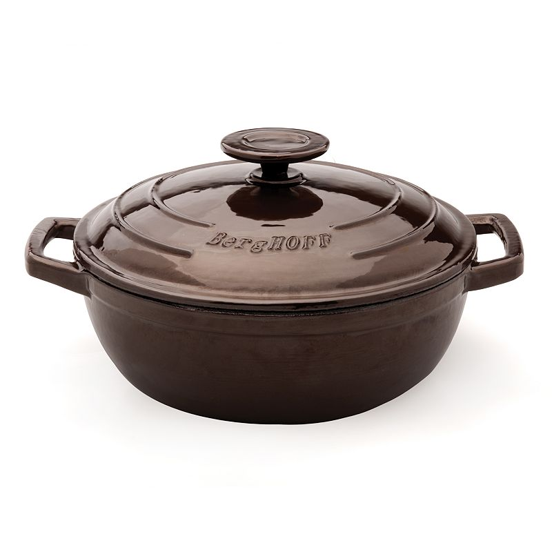 BergHOFF Neo 12 1/2-in. Cast-Iron Covered Wok