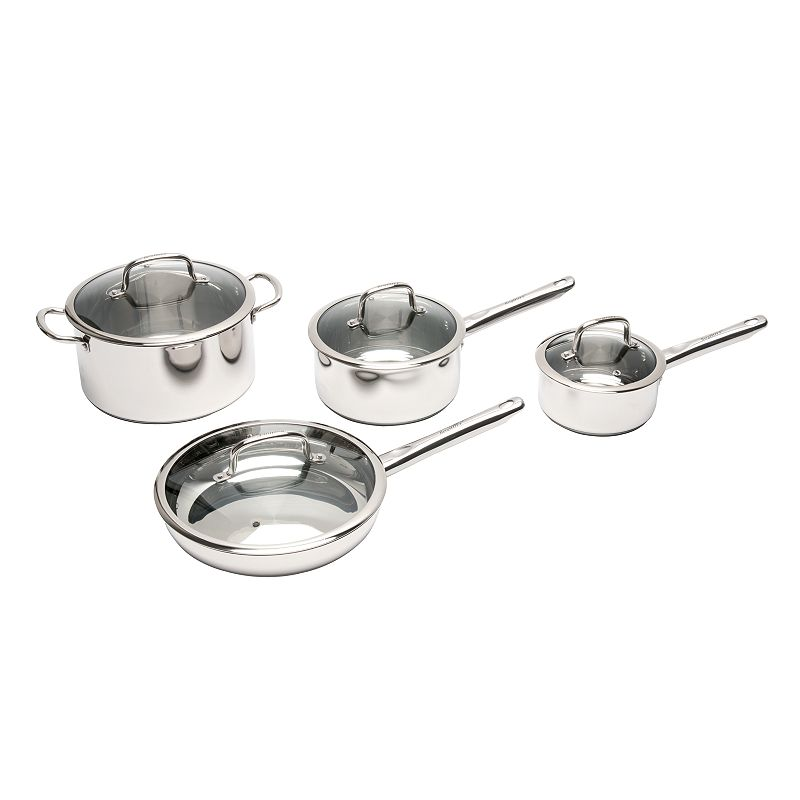 BergHOFF Boreal 8-pc. Stainless Steel Cookware Set
