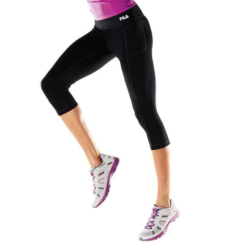 Women's FILA SPORT® Trail Skimmer Yoga Capris