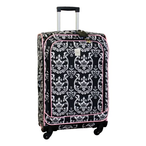 Jenni Chan Damask 24-Inch Spinner Luggage