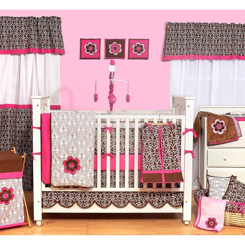 Bacati 10-pc. Damask Crib Set