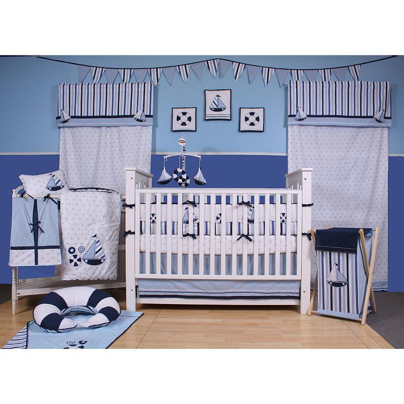 Bacati 10-pc. Little Sailor Crib Set