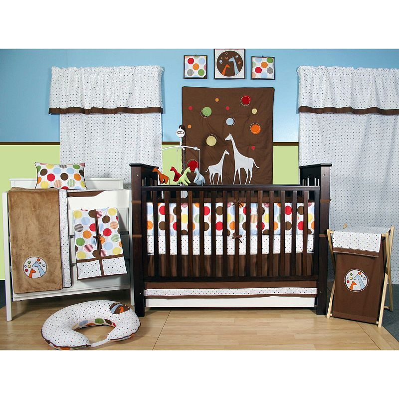 Bacati 10 Pc Baby And Me Crib Set