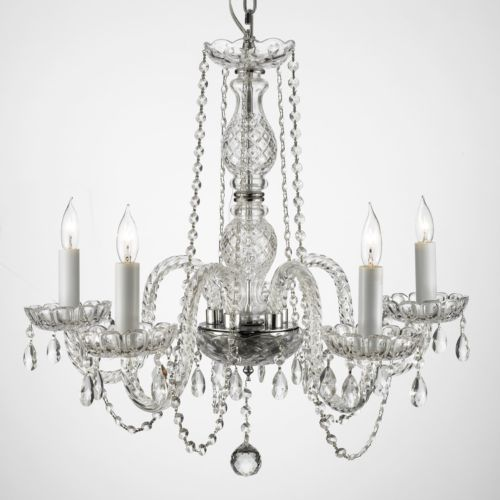 Gallery Venetian Crystal 5-Light Chandelier
