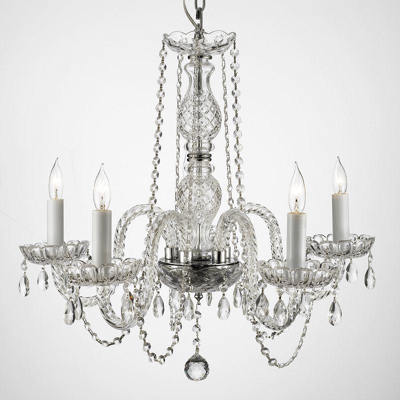 Gallery Venetian Crystal 5-Light Chandelier