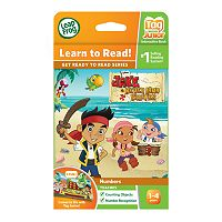 Disney Jake and the Never Land Pirates Tag Junior Book by LeapFrog