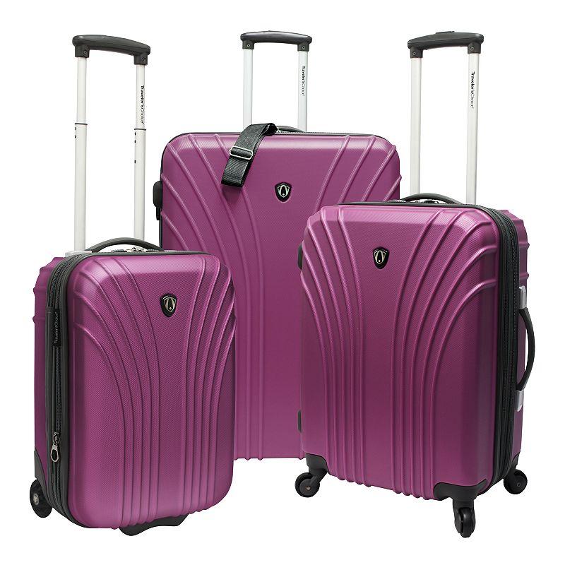 Traveler's Choice Cape Verde 3-Piece Hardside Luggage Set