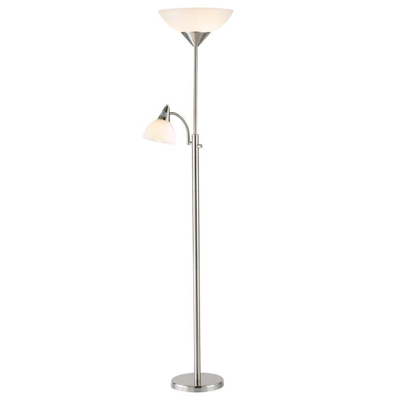 Adesso Piedmont Floor Lamp, Grey thumbnail