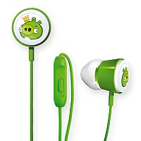 GEAR4 Angry Birds Pig King Space Deluxe Tweeters Earbud Headphones
