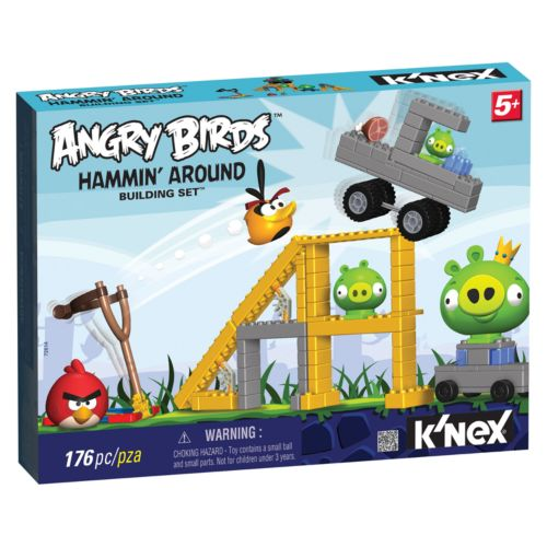 Angry Birds Hammin' Around Building Set by K'NEX