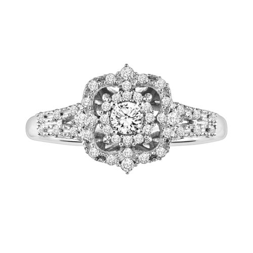 Simply Vera Vera Wang Diamond Engagement Ring in 14k White Gold (1/3-ct. T.W.)
