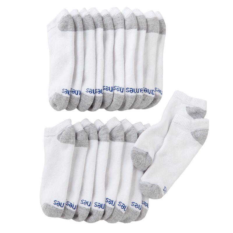 Boys Hanes 10-pk. Low-Cut Socks