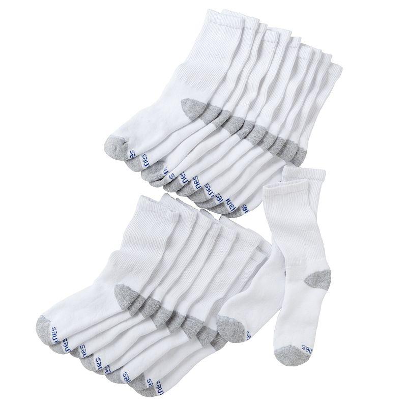 Boys Hanes 10-pk. Crew Socks