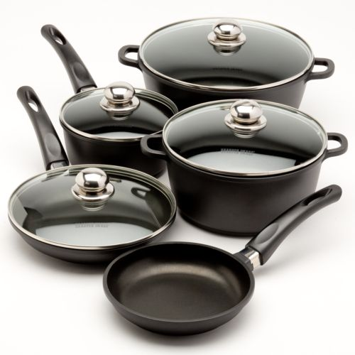 The Sharper Image 10-pc. Aluminum Cookware Set