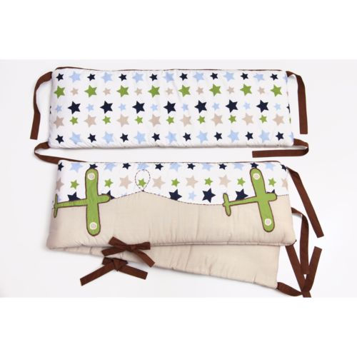 Bacati Camo Air Crib Bumper