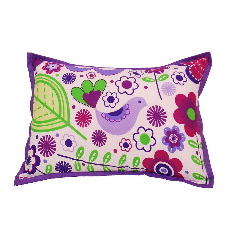 Kohls Purple Throw Pillows : BACATI BOTANICAL SANCTUARY DECORATIVE PILLOW (PURPLE)